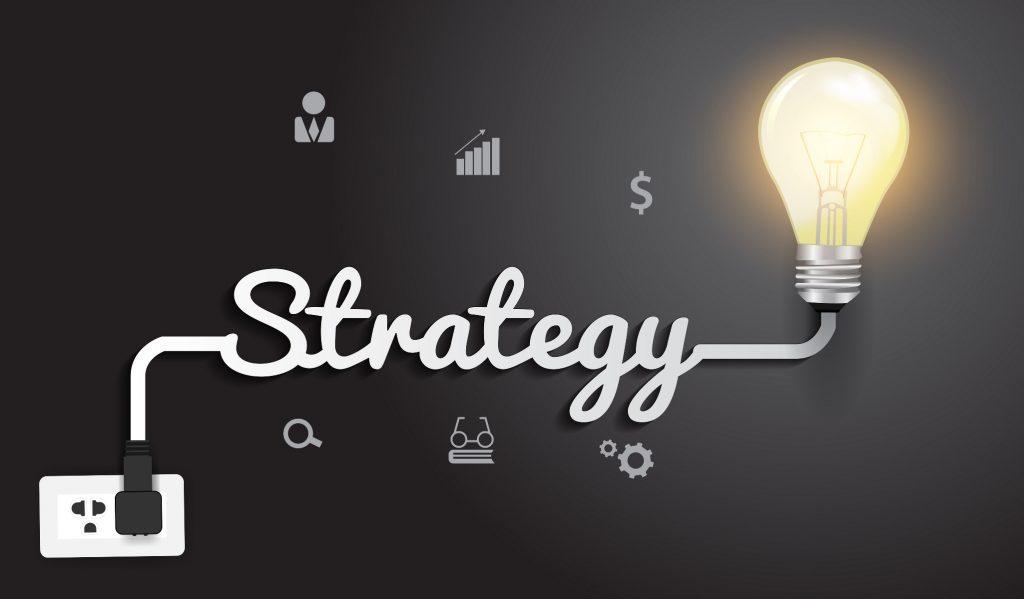 Strategie se zabývá otázkou čeho chcete dosáhnout a jak